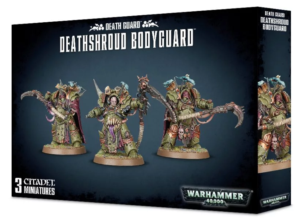 Deathshroud Bodyguard - Death Guard (Warhammer 40k) :www.mightylancergames.co.uk
