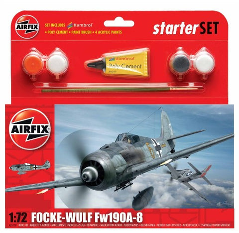 airfix Focke Wulf 190A-8 Starter Set: www.mightylancergames.co.uk