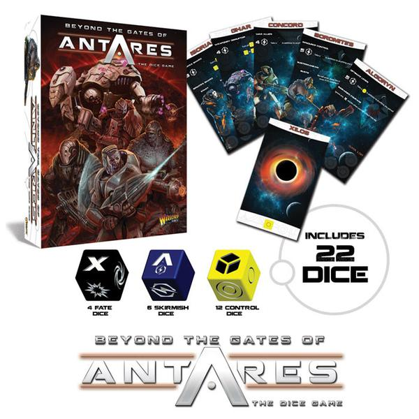 Beyond the Gates of Antares Dice Game :www.mightylancergames.co.uk