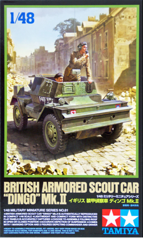 British Armoured Scout Car 'Dingo' Mk.II- 1/48- Tamiya - 32581