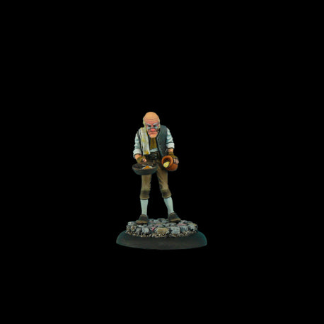 Albert Malich - Discworld Miniature (D03600) :www.mightylancergames.co.uk