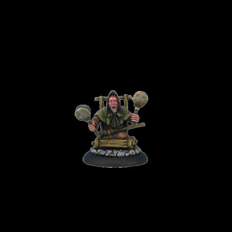 Arnold Sideways - Discworld Miniatures (D02200) :www.mightylancergames.co.uk