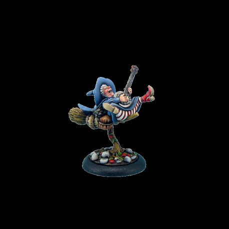 Nanny Ogg on Broom - Discworld (D02700) :www.mightylancergames.co.uk