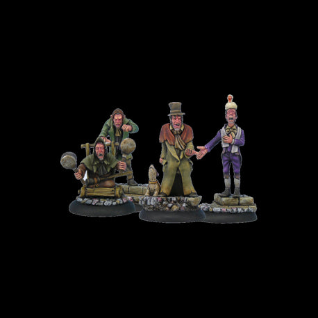 The Canting Crew - Discworld Miniatures (D02000) :www.mightylancergames.co.uk