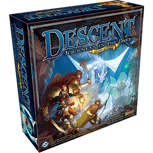 Descent: Journeys into the Dark (2nd Edition) Boxed Game