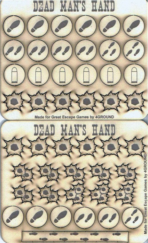 Dead Man's Hand: Markers and Tokens