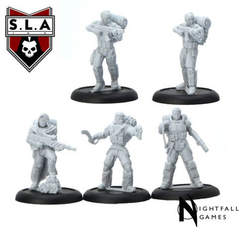 Darknight Starter Set - S.L.A  Cannibal Sector 1 :www.mightylancergames.co.uk