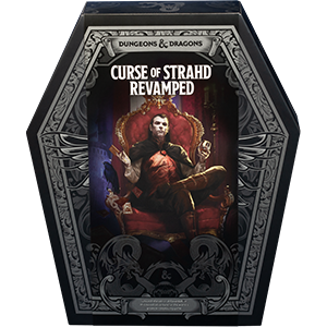 CURSE OF STRAHD REVAMPED - D&D Boxed Adventure for levels 1-10