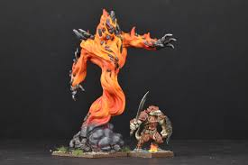 KINGS OF WAR Forces of Nature Greater Fire Elemental