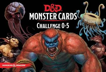 Dungeon and Dragons - Monster Cards 0-5