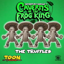 The Truffles - Caverns of the Frog King: www.mightylancergames.co.uk