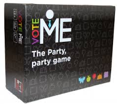 Vote Me - The Party, party game: www.mightylancergames.co.uk
