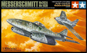 Tamiya 1/100 - Messerschmitt Me262A & Me 163B: www.mightylancergames.co.uk