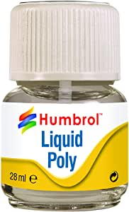 Liquid Poly Cement - 28ml Bottle (Humbrol - AE2500) : www.mightylancergames.co.uk