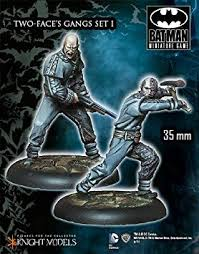 Batman Miniatures : Two Face Gang Set 1