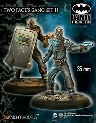 Batman Miniatures : Two Face Gang Set 2