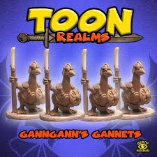 Ganngann's Gannets - Toon Realms: www.mightylancergames.co.uk