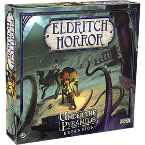 Eldritch Horror - Under the Pyramids Expansion (Boardgame) :www.mightylancergames.co.uk