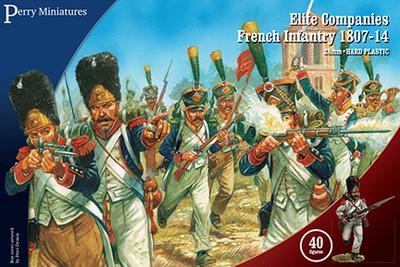 Elite Companies - French Napoleonic Battalion 1807 - 1814 - Perry Miniatures (FN260) :www.mightylancergames.co.uk