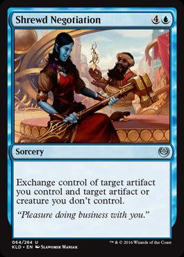 Shrewd Negotiation - Foil MightyLancerGames