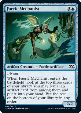 Faerie Mechanist- 50/332 -Double Masters
