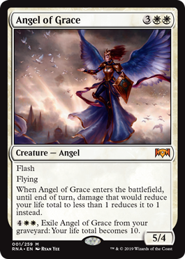 Angel of Grace - Ravnica Allegiance MTG Single Card
