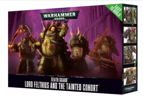Lord Felthius & The Tainted Cohort (ETB) - Death Guard :www.mightylancergames.co.uk