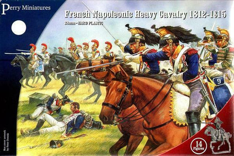 French Heavy Cavalry Napoleonic  1812-15 - Perry Miniatures (FN120) :www.mightylancergames.co.uk
