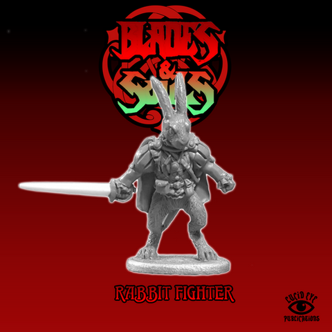 The Rabbit Fighter - Blades & Souls: www.mightylancergames.co.uk