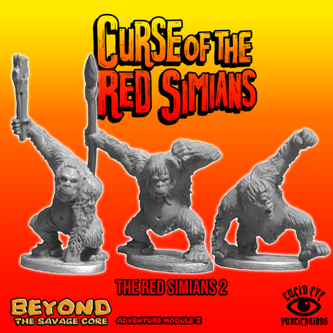 Red Simians 2 - Beyond the Savage Core: www.mightylancergames.co.uk