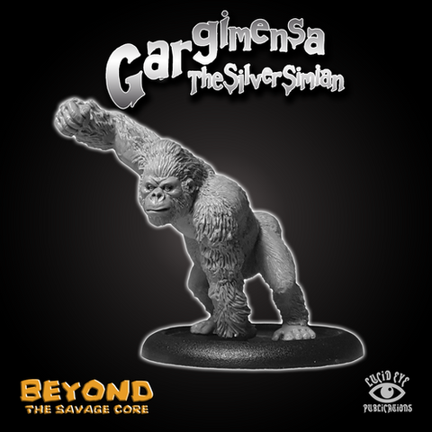 Gargimensa The Silver Simian - Beyond the Savage Core