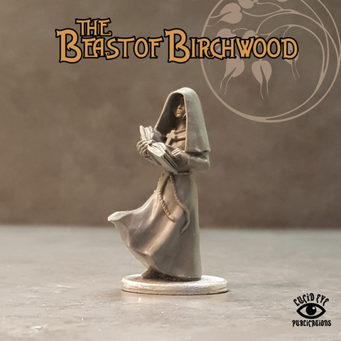 Mother Matilda, The Blind Nun - Beast of Birchwood: www.mightylancergames.co.uk