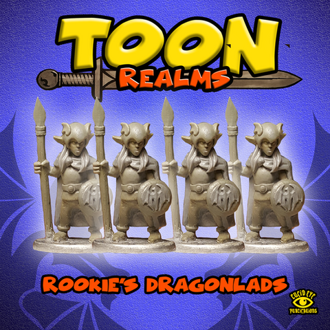 Rookies Dragonlads - Toon Realms: www.mightylancergames.co.uk