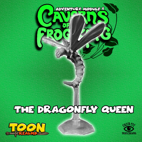 Dragonfly Queen - Caverns of the Frog King: www.mightylancergames.co.uk