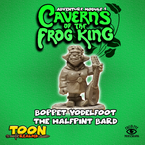 Boppet the Halfpint Bard - Toon Realms: www.mightylancergames.co.uk