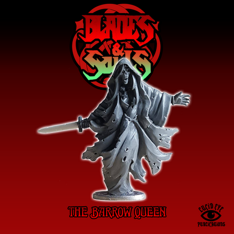 The Barrow Queen - Blades & Souls: www.mightylancergames.co.uk