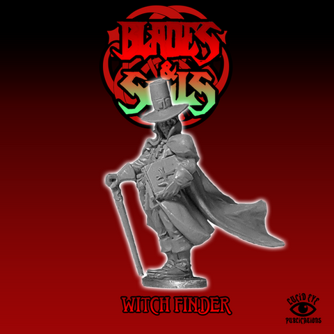 The Witchfinder - Blades & Souls: www.mightylancergames.co.uk
