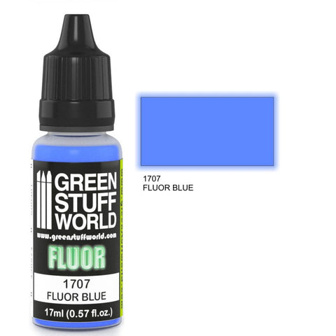 Fluor Paint - Blue - GSW :www.mightylancergames.co.uk