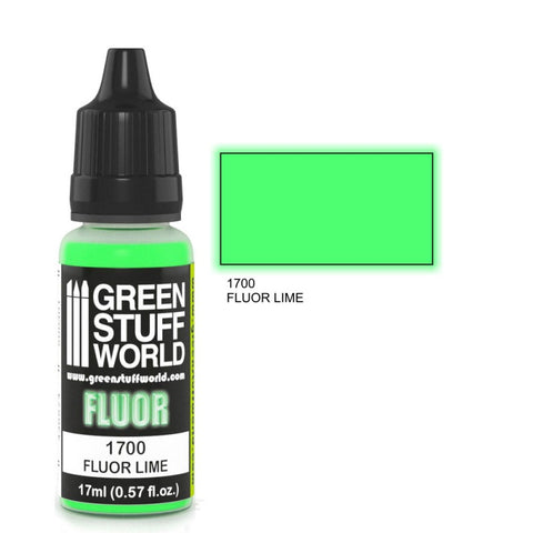 Fluor Paint LIME - GSW :www.mightylancergames.co.uk