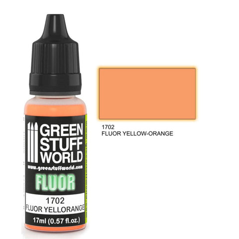 Fluor Paint YELLOW-ORANGE -  GSW