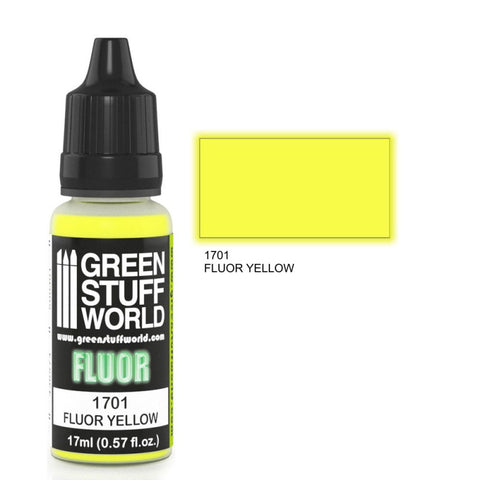 Fluor Paint YELLOW -  GSW
