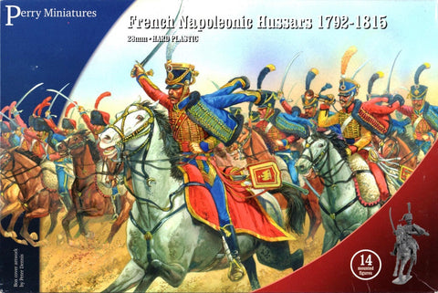French Hussars 1792-1815 - Perry Miniatures (FN140) :www.mightylancergames.co.uk