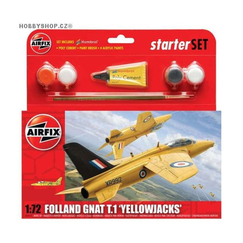 Airfix 1/72 - Folland Gnat T.1 'Yellowjacks'