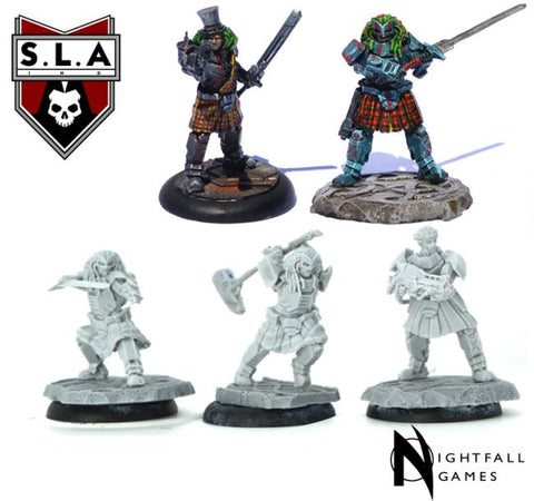 Frother Pack - S.L.A  Cannibal Sector 1 :www,mightylancergames.co.uk