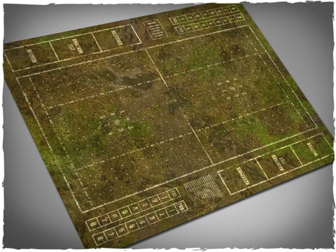 Muddy Fields - Blood Bowl Pitch Mousepad (Deep Cut Studios)