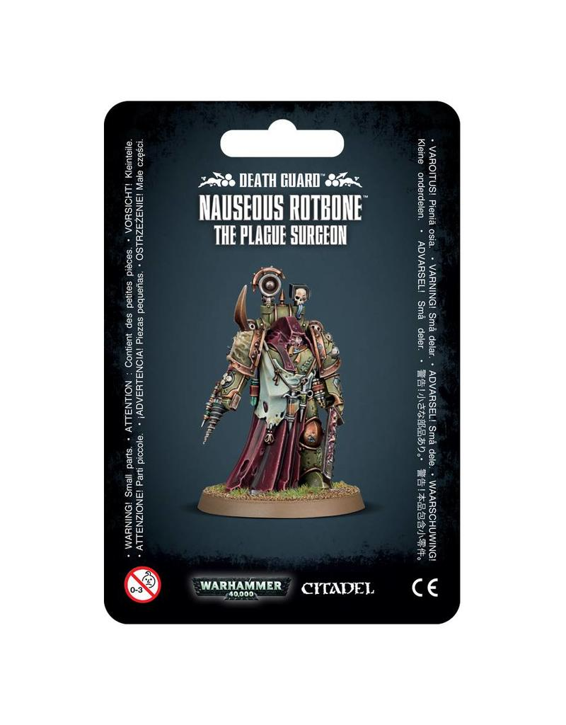 Nauseous Rotbone, the Plague Surgeon - Deathguard (Warhammer 40k)