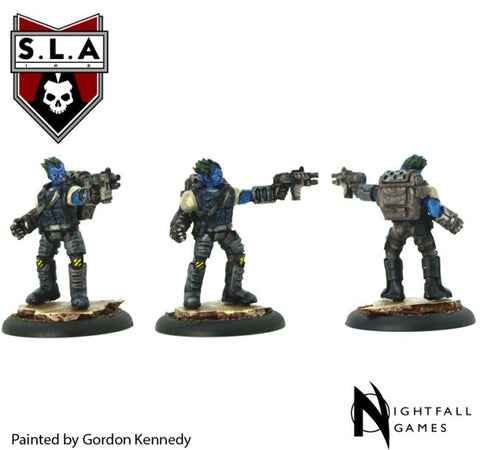 Grit Stomer - S.L.A  Cannibal Sector 1 :www.mightylancergames.co.uk