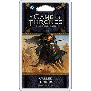 **Preorder** A Game Of Throne Card Game 2nd Edition: Called To Arms Chapter Pack