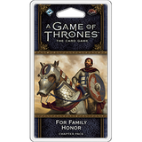 For Family Honor Chapter Pack - A Game Of Thrones Card Game 2nd Edition :www.mightylancergames.co.uk