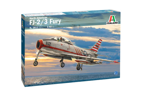 North American FJ-2/3 Fury - Italeri 1:48 scale - 2811